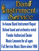 Band Instrument Service