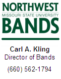 Northwest Missouri State Bands